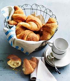 Australian Gourmet Traveller recipe for croissants.