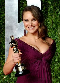 "Natalie Portman - Best Actress Oscar for ""Black Swan"" 2010"