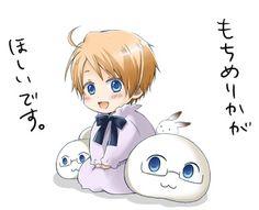 Okay I'm seeing that bunny everywhere serisouly, but Alfreds soooo cuuuute!!XD