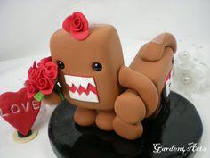 Domo wedding cake