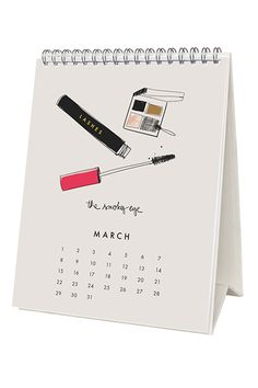 Under-$20 Beauty Gifts That Don't Suck  #refinery29  http://www.refinery29.com/beauty-gifts-under-20-dollars#slide9  What do you get the beauty-loving friend who has it all? Why, this charming calendar, of course. The illustrations of mascara, lip gloss, and bobby pins will surely remind her of items she already owns.