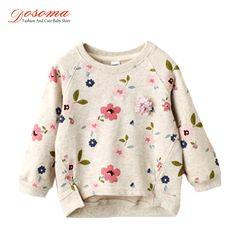 2017 новая весна девушки детская clothing случайные рубашки для девочек кофты воротник свежие цветы полный рукавами толстовки блузка купить на AliExpress