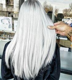 Die 8 Besten Bilder Von Silberblond White Hair Gorgeous Hair Und