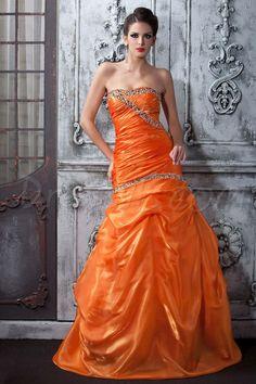 Dresswe.comサプライ品幻想的なマーメイドTalineのイブニング/ウェディングドレス ストラップレス 床長さ 2013プロムドレス