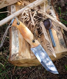BushcraftUK: Community Forum - Helle Utvaer - bushcraft knife designed by Jesper Voxnaes (aka VOX)