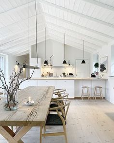 Urban Living, Nordic Living, Living Spaces, Living Room, Love Home, New Kitchen, Beautiful Homes, Inspiration, Sweet Home
