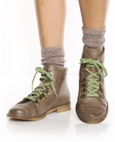Wanted Fairfax Taupe Sidewalk Hike Ankle Booties