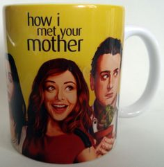 Caneca How I Met Your Mother - Mod . 11