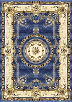Bright vibrant colors, this rug makes a statement (traditional while shouting look at me).