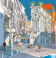 Carlo Stanga illustrazione