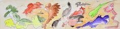 L'arte di Vittorio Amadio: Once Upon A Time. C'era una volta  … gli animali che non erano animali e i pesci che respiravano soffi d'aria pura, vagavano senza meta fra il fumo e le macerie della città distrutta...