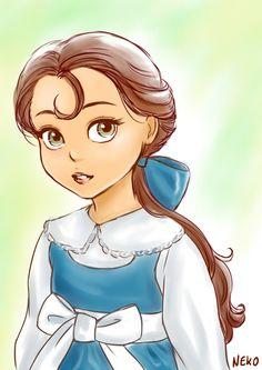 Animators' Belle by NEKO-2006.deviantart.com