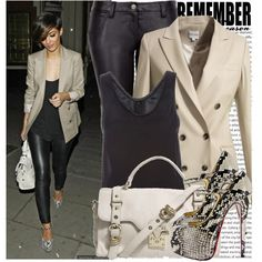 Celebrity Style: Frankie Sandford, created by chocolatepumma fashion-fabulous Classy Outfits, Casual Outfits, Cute Outfits, Frankie Sandford, Ootd, Dressed To The Nines, Style And Grace, Mode Style, Passion For Fashion