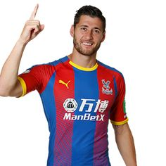 Crystal Palace FC - First-Team Squad 2017/18--Joel Ward-2 Joel Ward, Crystal Palace Fc, One Team, Squad, Red And Blue, Soccer, England, Football, Smile