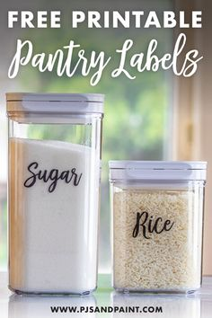 Free Printable Pantry Labels Labels for food storage containers Free Printable Pantry Labels Kitchen Labels, Pantry Labels, Jar Labels, Food Labels, Labels Free, Free Printable Labels, Canning Labels, Printable Recipe, Canning Recipes