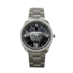 New Wrist watches XSHK061 New Best Skoda Fabia VRS steering wheel Style Sport Metal Watch >>> You can get additional details at the image link.