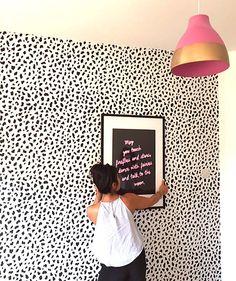 Shop: Our beautiful leopard print wallpaper black and white wallpaper . Shop: Our beautiful leopard print wallpaper black and white wallpaper . Leopard Print Bedroom, Leopard Print Wallpaper, Spotted Wallpaper, Wall Art Wallpaper, Adhesive Wallpaper, Wallpaper Wallpapers, Black And White Wallpaper, Room Goals, Aesthetic Rooms