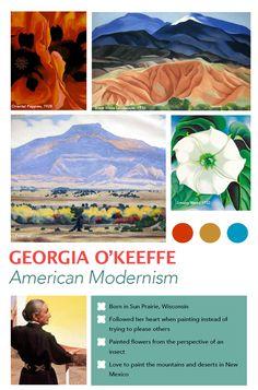 O'Keeffe Art Poster