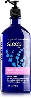 Aromatherapy Night Time Tea Body Lotion - Bath And Body Works