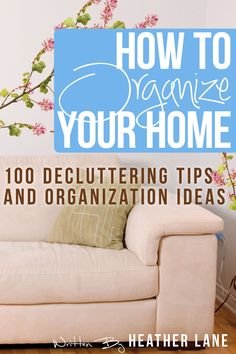How to Organize Your Home: 101 Decluttering Tips and Organization Ideas:Amazon:Kindle Store