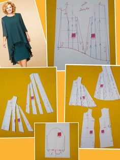 Dress Making Patterns, Skirt Patterns Sewing, Clothing Patterns, Sewing Blouses, Pattern Cutting, Pattern Drafting, Fashion Sewing, Sewing Techniques, Dressmaking