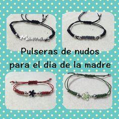 DIY Pulsera de nudos estilo tous regalo dia de la madre friendship-bracelet…