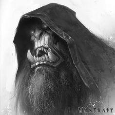 The Art of Warcraft Film - Gul'dan , Wei Wang on ArtStation at https://www.artstation.com/artwork/n8R6X