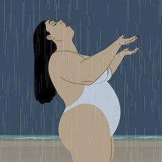 57 Ideas For Art Drawings Girl Female Bodies Animation Illustrations, Illustration Art, Art Beauté, Plus Size Art, Fat Art, Art Vintage, Big And Beautiful, Erotic Art, Female Art