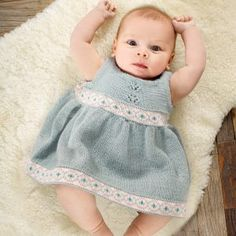 Holly Dress von Knitting for Olive