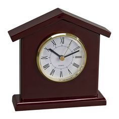 Personalized Personalized Wood Tower Shaped Clock, Create Beautiful Custom Personalized Business Gifts & Business Gift Ideas at The Stationery Studio. Wood Mantle, Mantle Clock, Desk Clock, Mantel Shelf, Tabletop Clocks, Wood Clocks, Wood Arch, Business Gifts, House In The Woods