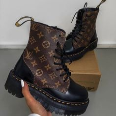 Image may contain: shoes and boots Louis Vuitton Boots, Louis Vuitton Shoes Sneakers, Luis Vuitton Shoes, Sneakers Mode, Sneakers Fashion, Fashion Shoes, Fashion Clothes, Fashion Fashion, Fashion Ideas