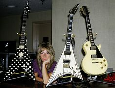 Randy Rhoads guitars. Amazing guitarist ever lived!