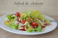 Salad de Maison | www.thevintagemother.com