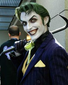 Tagged with cosplay, joker; best joker cosplay ever seen! Dc Cosplay, Joker Cosplay, Male Cosplay, Best Cosplay, Joker Costume, Naruto Cosplay, Anime Cosplay, Monster High Party, Albert Camus