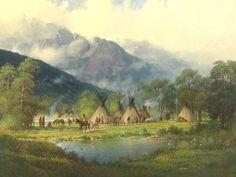 Gerald Harvey Jones 1933 | American Western painter