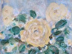 Rose D Or is an original Acrylic Painting on Canvas painted and inspired by the Rosarie next to where I live. Fine Art America, Greeting Cards, Painting, Wall Art, Canvas, Acrylics, Rose, Prints, Design