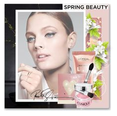 """Spring beauty"" by i-am-sana ❤ liked on Polyvore featuring beauty, Jennifer Lopez, Burberry, Chanel, Pink, pretty, SpringStyle, highlighter and spring2016"