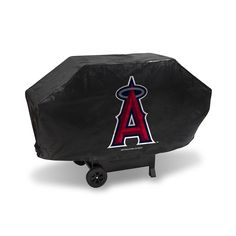 Los Angeles Angels MLB Deluxe Barbeque Grill Cover