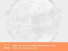 free constellation desktop downloads | designlovefest