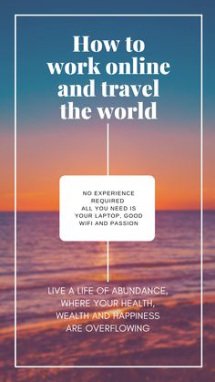 Do you want to learn how to make an income online, travel the world or work from anywhere you choose? Do you wish to add value, make a difference and be successful on your own terms? Can't wait to chat! Online Travel, Advertising Campaign, Online Work, All You Need Is, Abundance, Behind The Scenes, Success, Social Media, Adventure