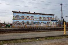 Bahnhof in Bad Wilsnack, Brandenburg - Kurort mit Moor & Sole, Pilgerweg Berlin / Wilsnack und ganz viel Wellness.