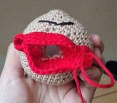 Little My from Moomin – free pattern Drops Patterns, Lace Patterns, Knit Cardigan Pattern, Cardboard Toys, Thick Yarn, Wrap Pattern, Pattern Library, Moomin, Little My
