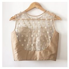 The Gold Sheer Saba Blouse