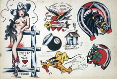 sailor jerry tattoos - Google Search