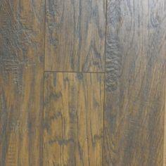 Pergo Max 5-3/8-in W x 47-5/8-in L Handscraped Richland Hickory Laminate Flooring $2.99 sq. ft.