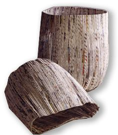 recycled- newspaper baskets2.jpg 253×291 pixels
