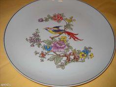 Hollóházi porcelán süteményes tányér Mint, Plates, Tableware, Licence Plates, Dishes, Dinnerware, Griddles, Tablewares, Dish