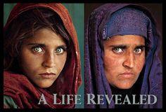 Sharbat Gula, aos 12 e aos 30 anos - Fotografias que fizeram história