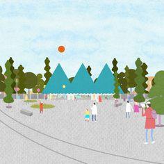 fala · visitor center for a theme park · Divisare