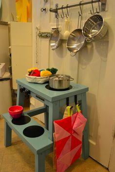 Ikea Hack Kids, Ikea Hacks, Bekvam, Pretend Food, Diy Interior, Craft Activities For Kids, Kidsroom, Diy Baby, Play Houses